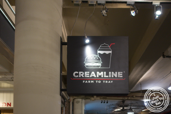 Surprising burger at Creamline in Chelsea Market — I Just