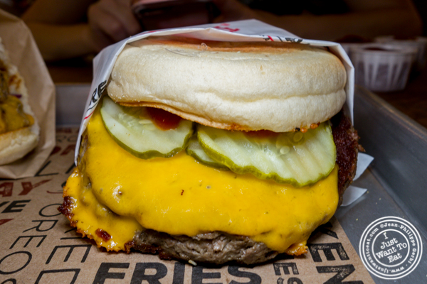 The Impossible Burger a Creamline in Chelsea Market