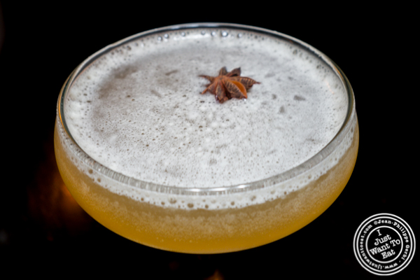 Michter's rye cocktail at Foragers Table in Chelsea
