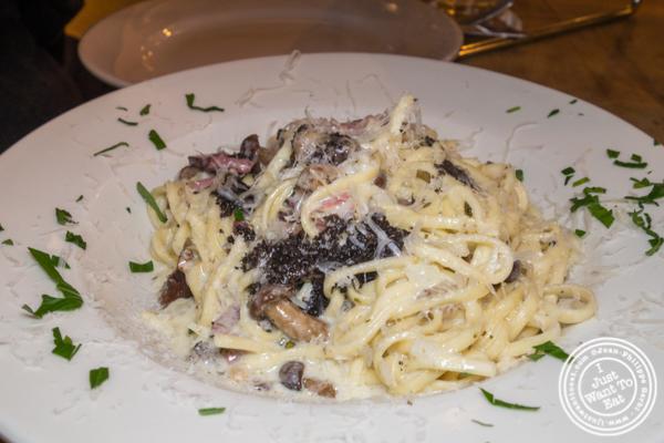 Tagliolini al tartufo at Luzzo's in Long Island City