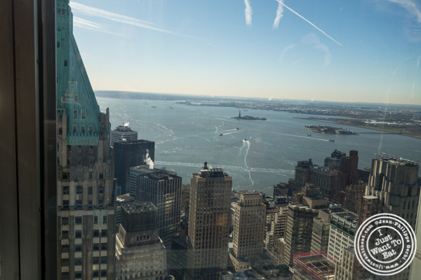 View from the Bay lounge of Manhatta