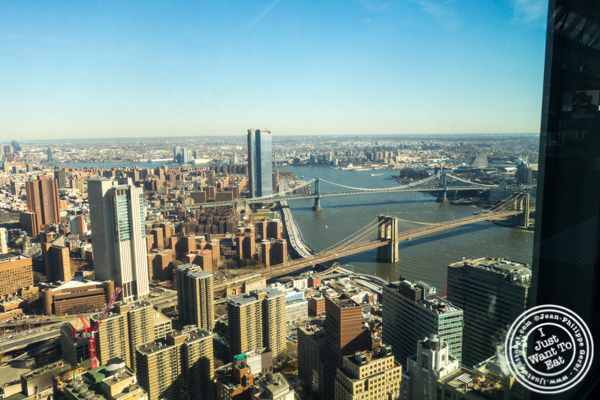 View from Manhatta in NYC, NY