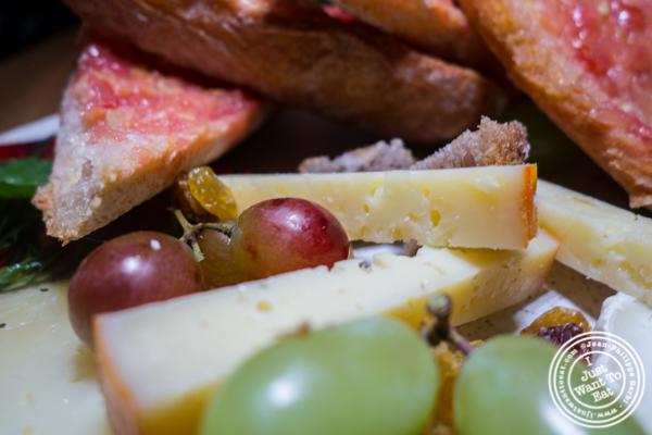 Aged Mahon cheese at Boqueria in Times Square