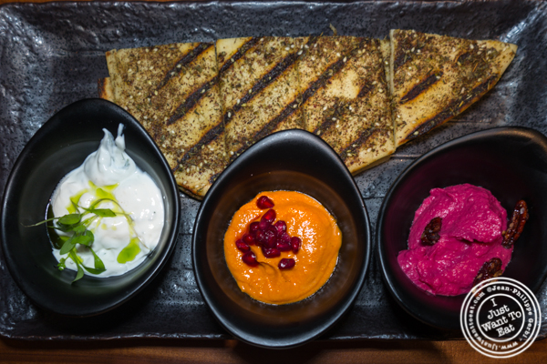 Mezze at L'Adresse near Bryant Park