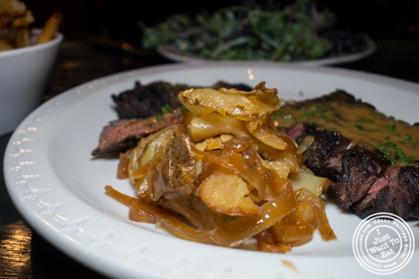 Pommes salariasses at M Wells Steakhouse in Long Island City