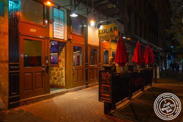 Lola's in Hoboken, NJ