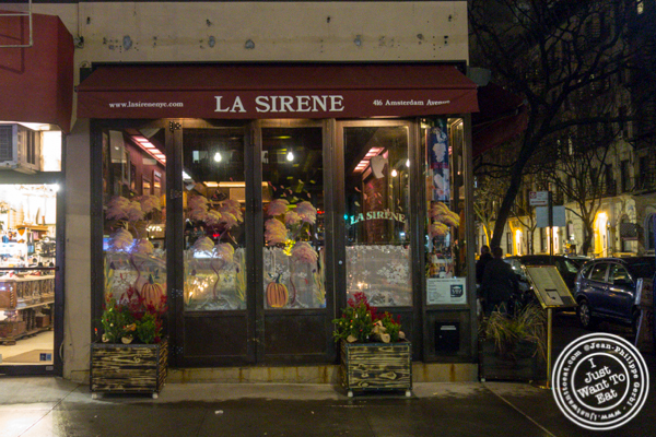 La Sirene on the Upper West Side