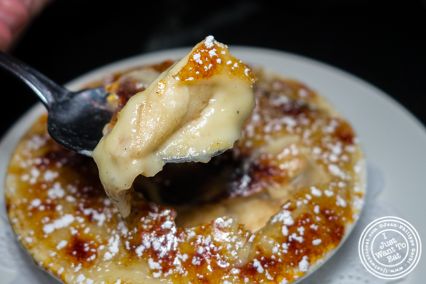 Banana brûlée at La Sirene on the Upper West Side