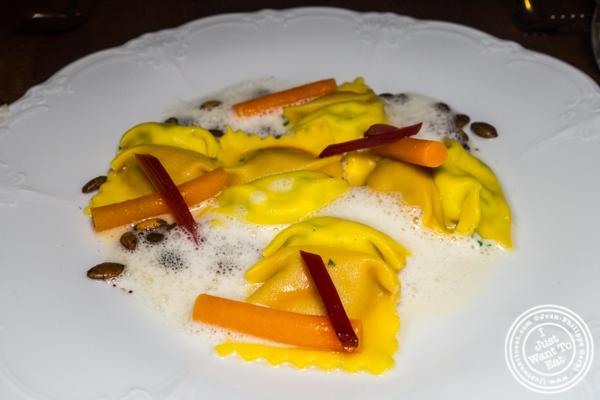Doppio pasta at Batard in TriBeCa