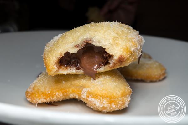Nutella donuts at Levante in LIC