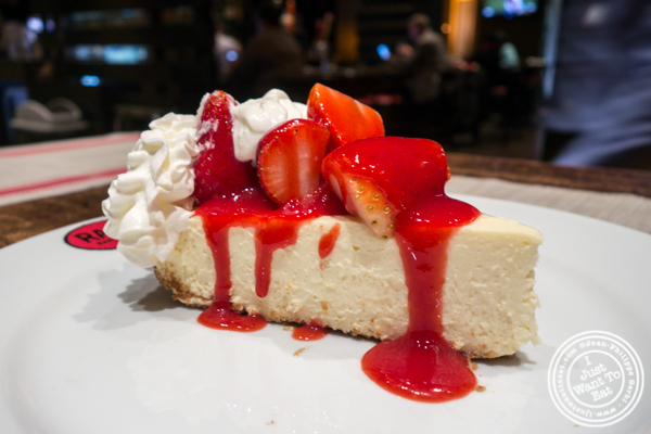 Cheesecake at Rare Bar and Grill in Chelsea