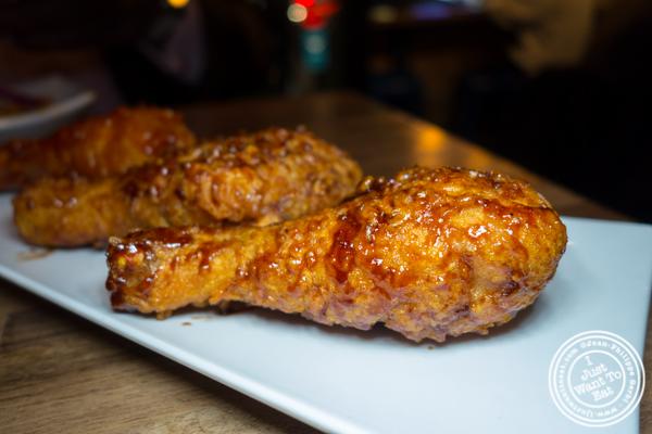 Fried chicken at Korean Crispy Chicken in Hell's Kitchen