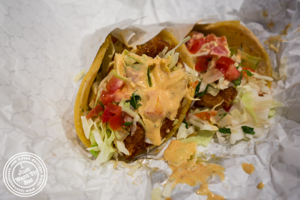 Baja taco at The Taco Stand in Los Angeles