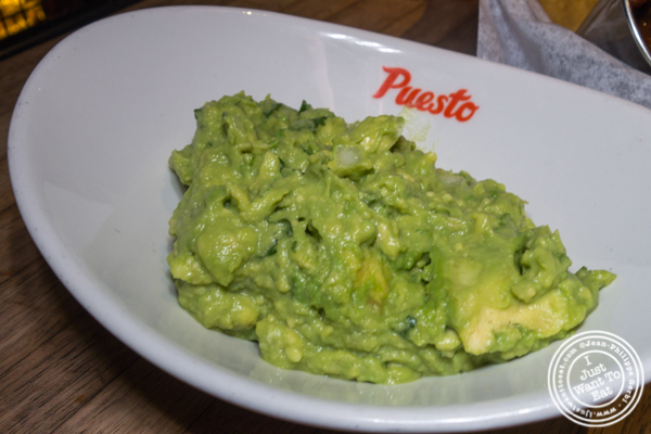 Guacamole at Puesto at The Headquarters in San Diego