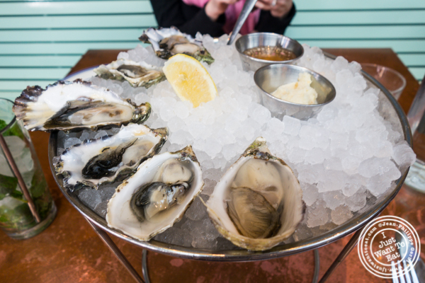 Oysters at Ironside Fish & Oysters in San Diego