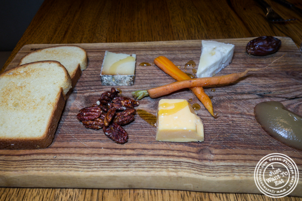 Cheese board at Juniper & Ivy in San Diego
