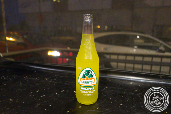 Jarritos pineapple soda at Salud! By San Diego Taco Company in San Diego