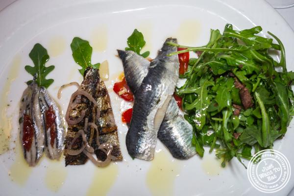 Pesce azzurri at Esca in Hell's Kitchen