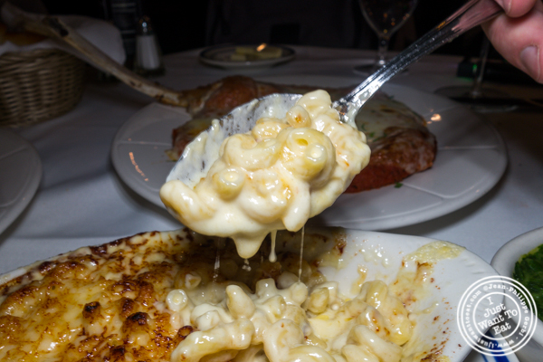 Mac and cheese at Tuscany Steakhouse in NYC, NY