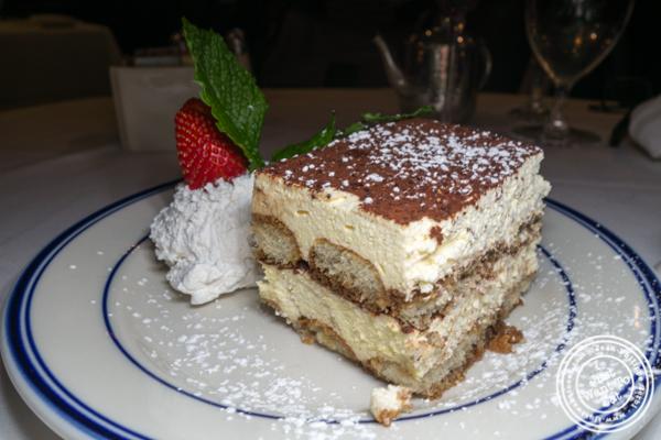 Tiramisu at Tuscany Steakhouse in NYC, NY