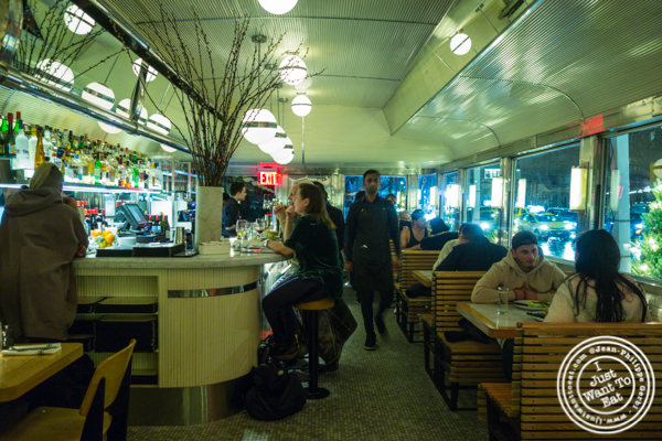 Dining room at Empire Diner in Chelsea