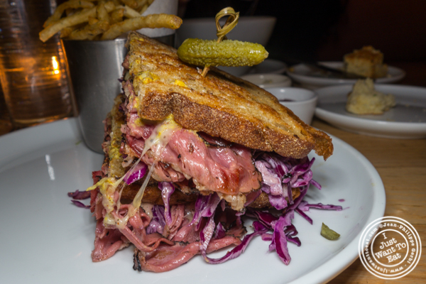 New York Pastrami sandwich at Empire Diner in Chelsea
