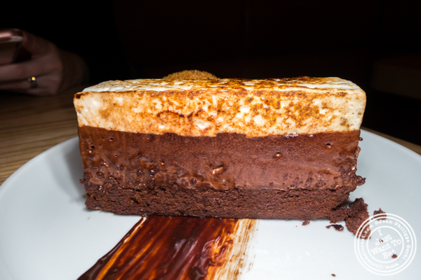 S'mores torte at Empire Diner in Chelsea