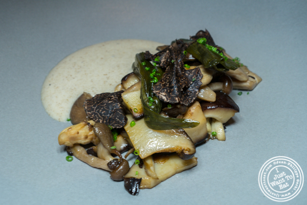 Mushroom at Jungsik in TriBeCa