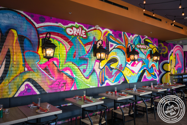 Dining room at Orale in Hoboken, NJ