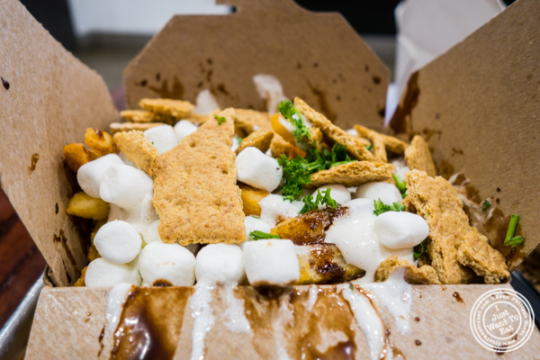 S'mores fries at Sticky's Finger Joint in Times Square