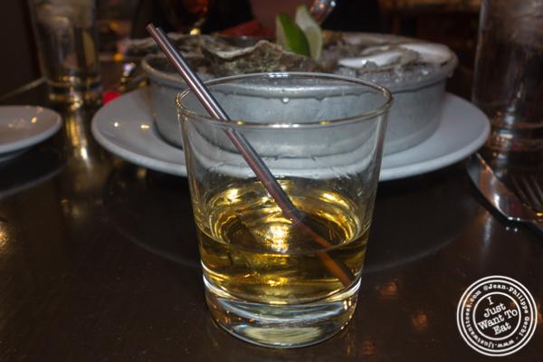 Johnnie Walker Platinum whiskey at Thalia in NYC, NY