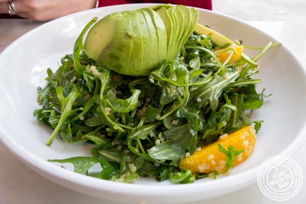Arugula salad at Indie LIC in Queens, NY