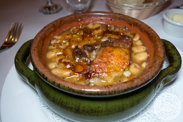 Cassoulet at Felix in NYC, NY