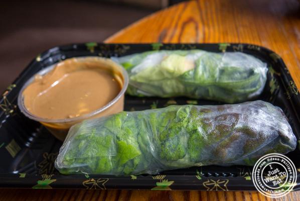 Tofu rolls at Hanco's in Brooklyn, NY