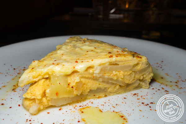 Tortilla española at Frenchette in TriBeCa