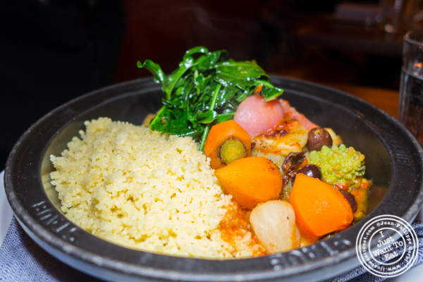 Tagine d'artichauds at Frenchette in TriBeCa