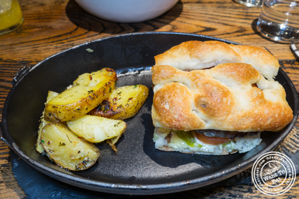 Burger at Cocotte in Soho