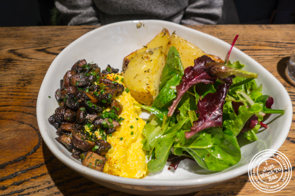 Scrambled eggs at Cocotte in Soho