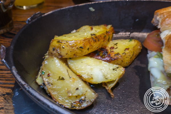 Pommes rôties at Cocotte in Soho