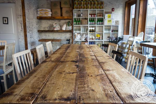 Dining room at Dozzino in Hoboken, NJ