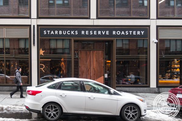 Starbucks Reserve Roastery in NYC, NY