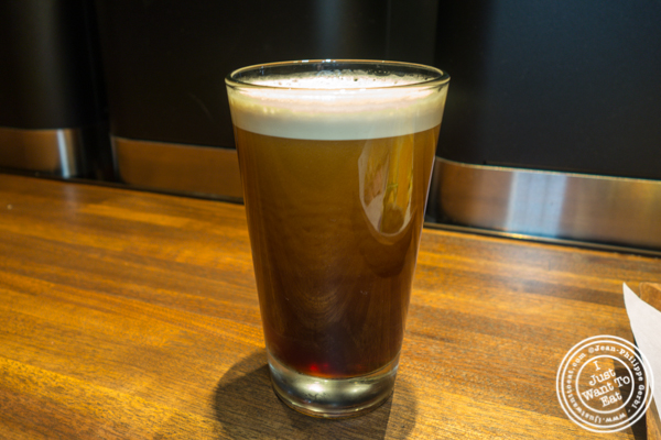 Nitro cold brew at Starbucks Reserve Roastery in NYC, NY