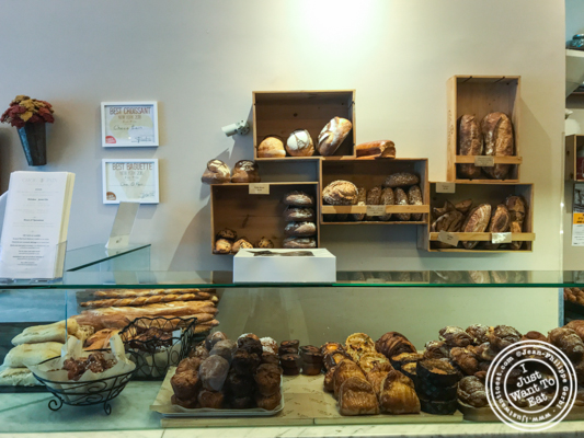 Bread, viennoiserie at Choc O Pain in Jersey City