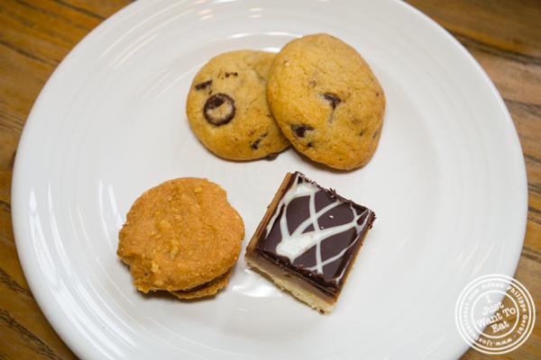 Tea cookies at One Girl Cookies in Dumbo