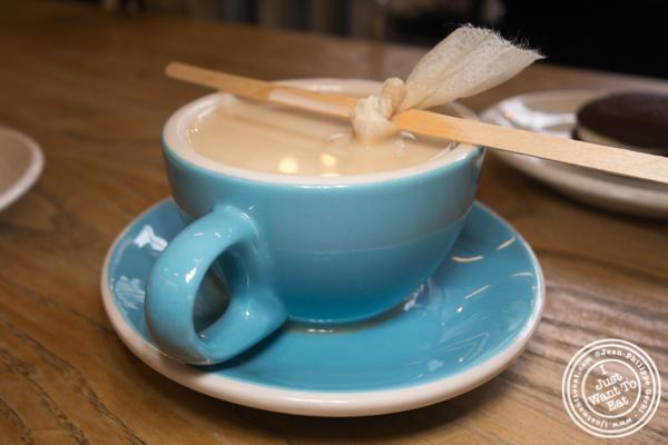 Tea at One Girl Cookies in Dumbo, Brooklyn
