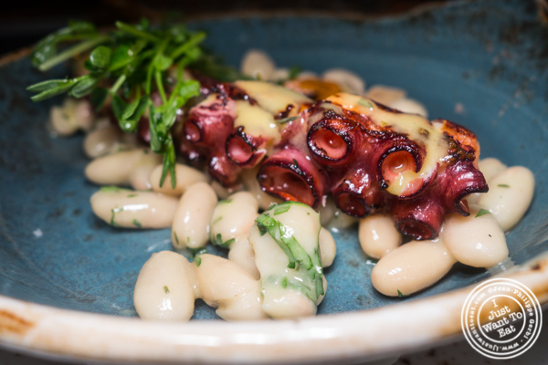 Octopus at Valerie in NYC. NY