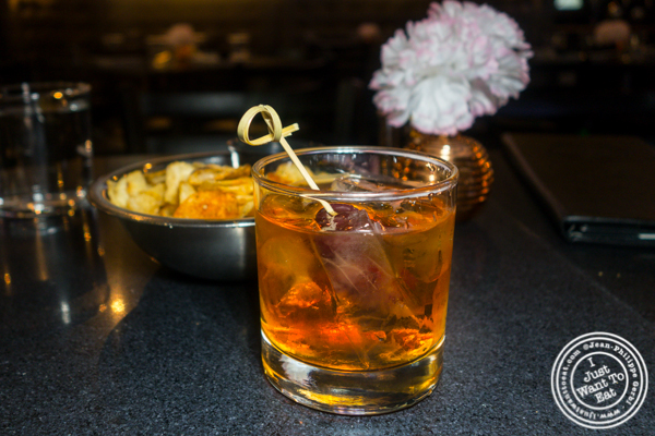 PW Old Fashioned at Proper West in NYC, NY