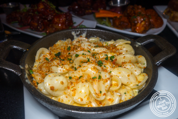 Truffle Mac and cheese at Proper West in NYC, NY