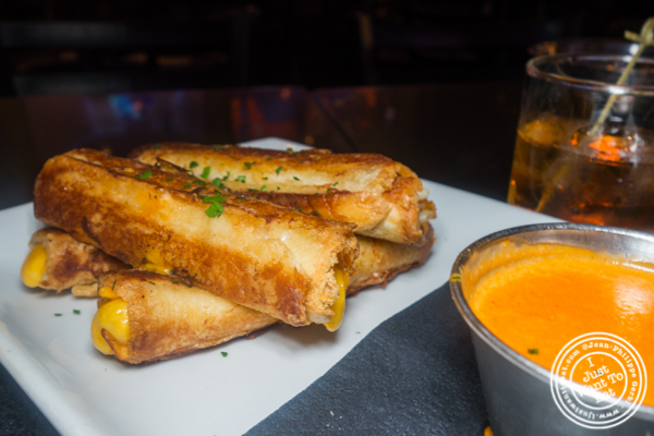 Grilled cheese dippers at Proper West in NYC, NY