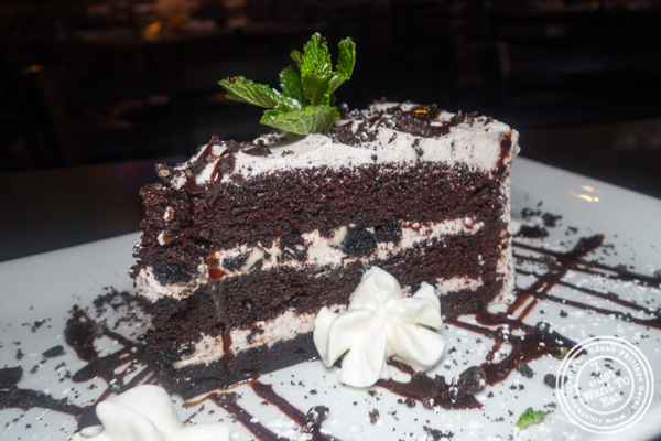 Oreo n'cream cake at Proper West in NYC, NY